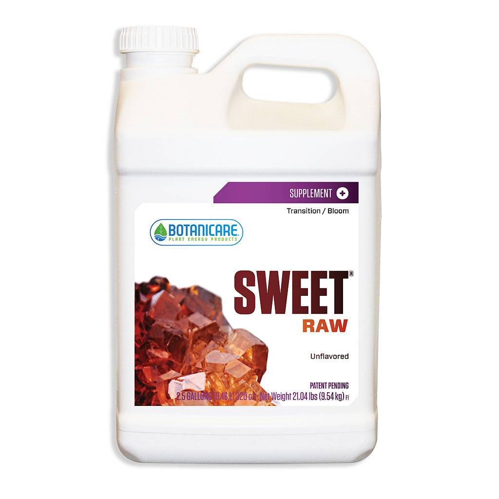 BOTANICARE SWEET RAW 2.5 GAL