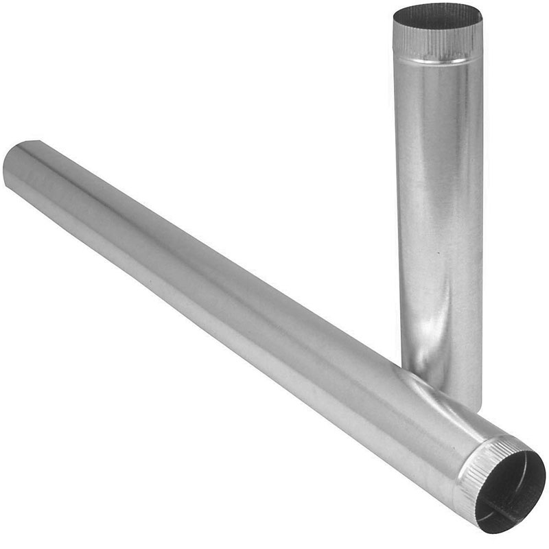 "GALVANIZED R/PIPE LIGHT GAGE 4""X60"" (.010 GA)"