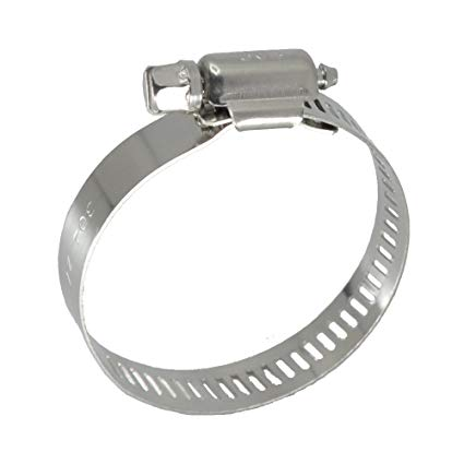 "HOSE CLAMP STAINLESS STEEL 10"" 2 PACK"