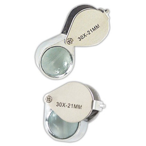 GROWERS EDGE MAGNIFIER LOUPE 30X 12/CASE