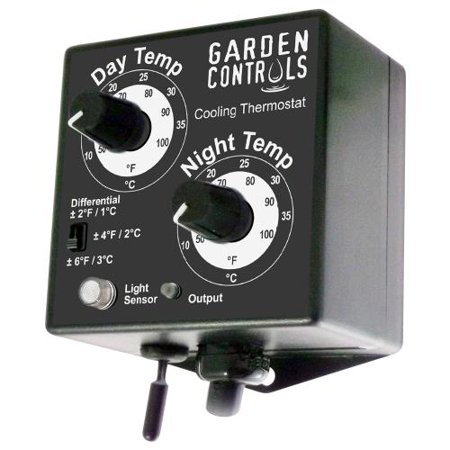 GARDEN CONTROLS FAN CONTROLLER DAY/NIGHT 50F-100F