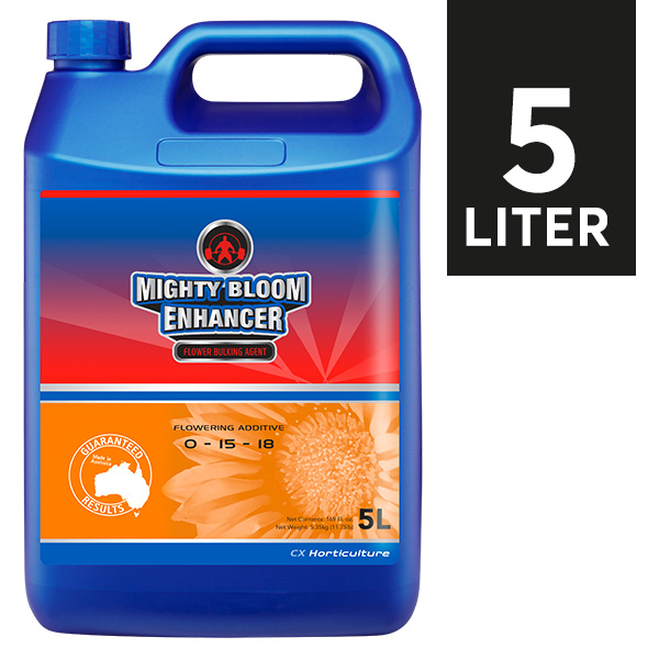CX Horticulture MIGHTY BLOOM ENHANCER 5 LITER