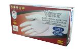 VIKING WHITE LATEX GLOVES POWDER-FREE LARGE