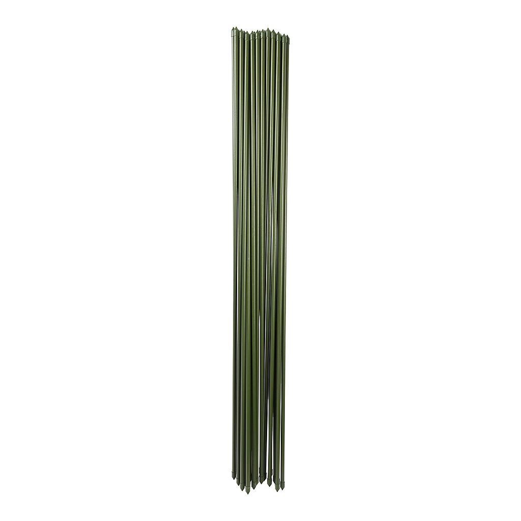GREEN STAINLESS STEEL GARDEN STAKE 4'