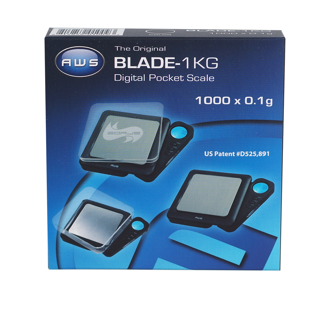 BLADE POCKET SCALE 1000X.1G