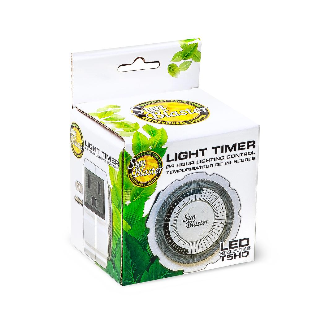 ANALOG TIMER SINGLE OUTLET 15A 24 HR